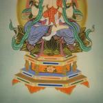 0142 Mahasthamaprapta Painting / Shingo Tanaka 005