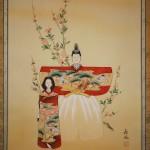 "0150 ""Tachibina"" Dolls Painting / Kahou Sakakibara 004"