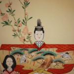 "0150 ""Tachibina"" Dolls Painting / Kahou Sakakibara 005"