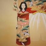 "0150 ""Tachibina"" Dolls Painting / Kahou Sakakibara 006"