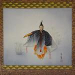 0168 Noh: Kakitsubata Painting / Seibi Saitou 002