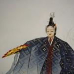 0168 Noh: Kakitsubata Painting / Seibi Saitou 003