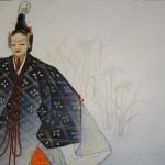0168 Noh: Kakitsubata Painting / Seibi Saitou 005