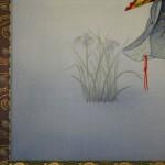 0168 Noh: Kakitsubata Painting / Seibi Saitou 006