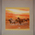 0169 Horses Painting / Kahou Sakurai 002