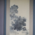 "b0002 Landscape Painting in ""Sumi"" Ink / Shikou Okamoto 003"