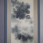 "b0002 Landscape Painting in ""Sumi"" Ink / Shikou Okamoto 004"