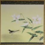 b0008 Lilies Painting / Kaoru Nakagawaji 002