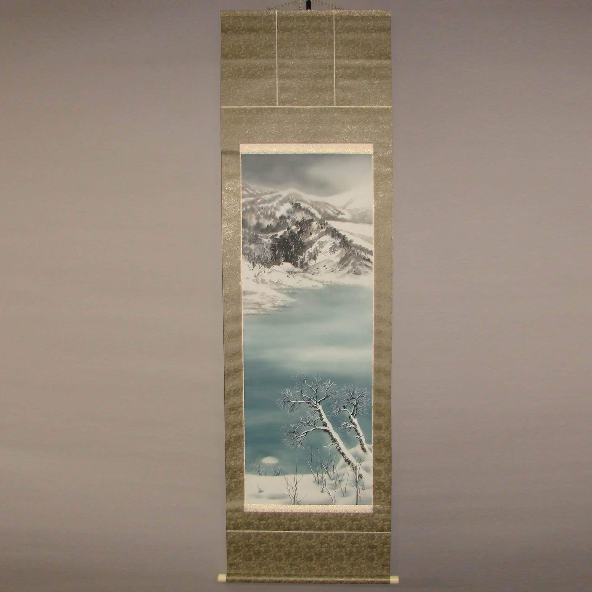 Snowy Landscape Painting /Arakawa Zenjirō