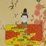 b0018 Hina Dolls in Standing Poses / Shunkou Masuda 005