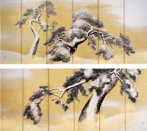 Sessho-zu Byobu / Maruyama Shijou