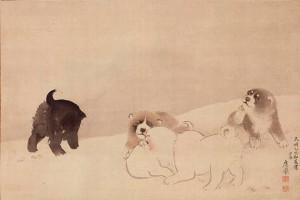 Puppies / Maruyama Shijou