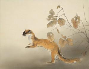 Autumn Farm / Kansetsu Hashimoto Painting of Kyoto School