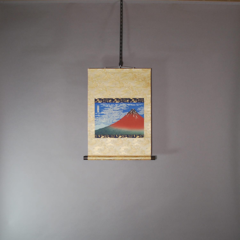 South Wind, Clear Sky (Red Mt. Fuji) / Hokusai Katsushika