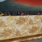 Ukiyo-e Kakejiku Hokusai Katsushika South Wind, Clear Sky (Red Mt. Fuji) picture007