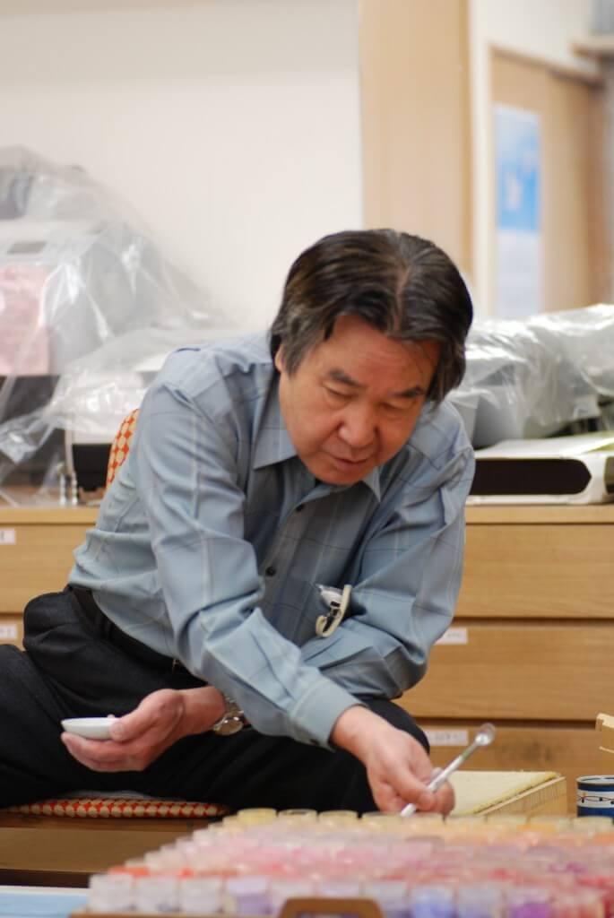 Tomo Katou, a Japanese-style Painter