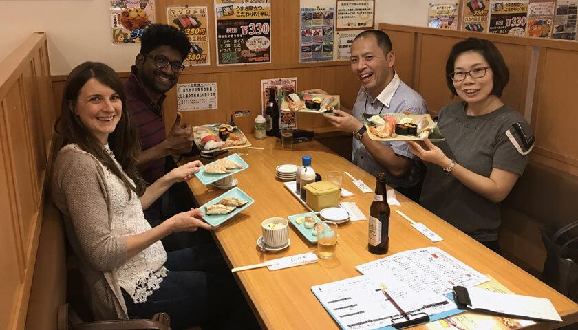 kakejiku guests U.K. souvenir Kobe