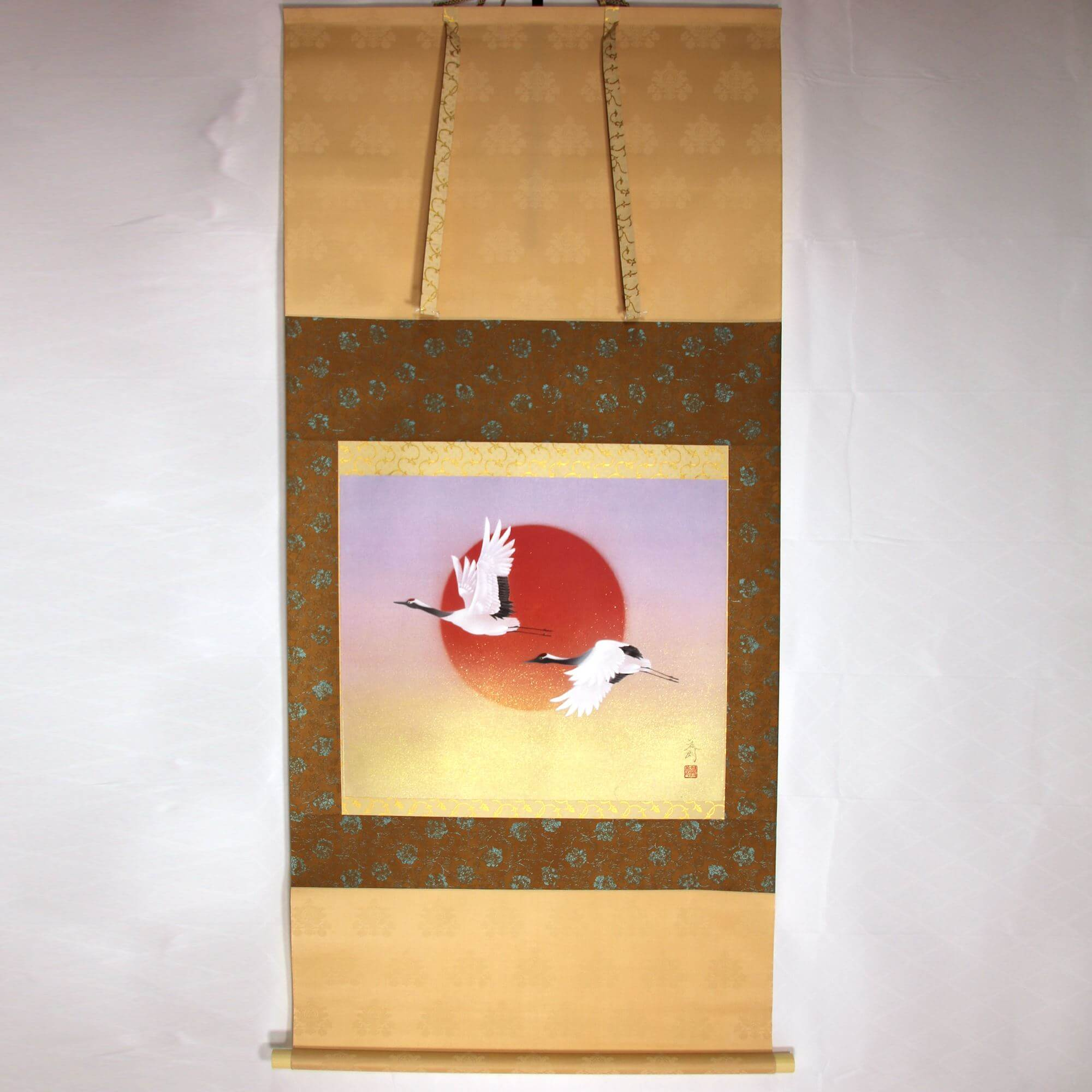 A Flying Crane Couple / Tatsurou Shima