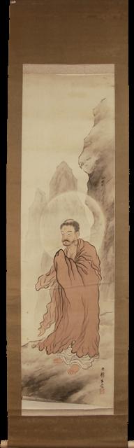 restoration antique kakejiku Japanese hanging scroll