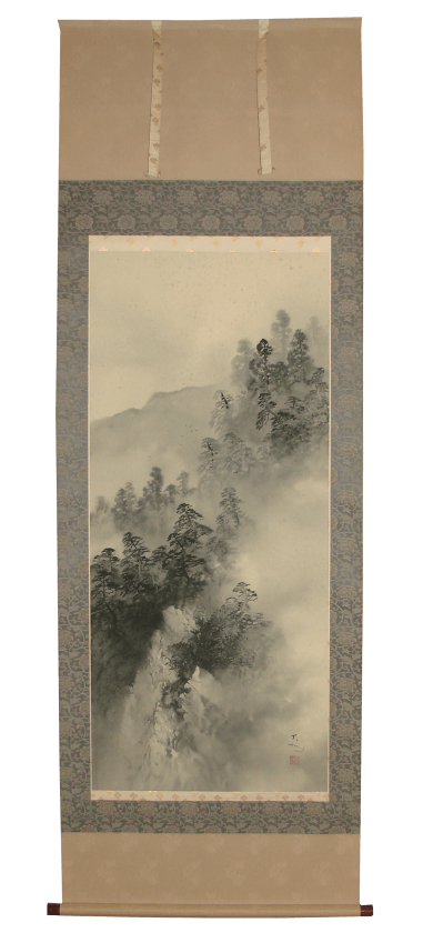 Removal Stain removal restoration restore kakejiku Japanese antique hanging scroll kakejiku