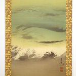 Keinen Imao 今尾景年 Shijo painter painting hanging scroll kakejiku