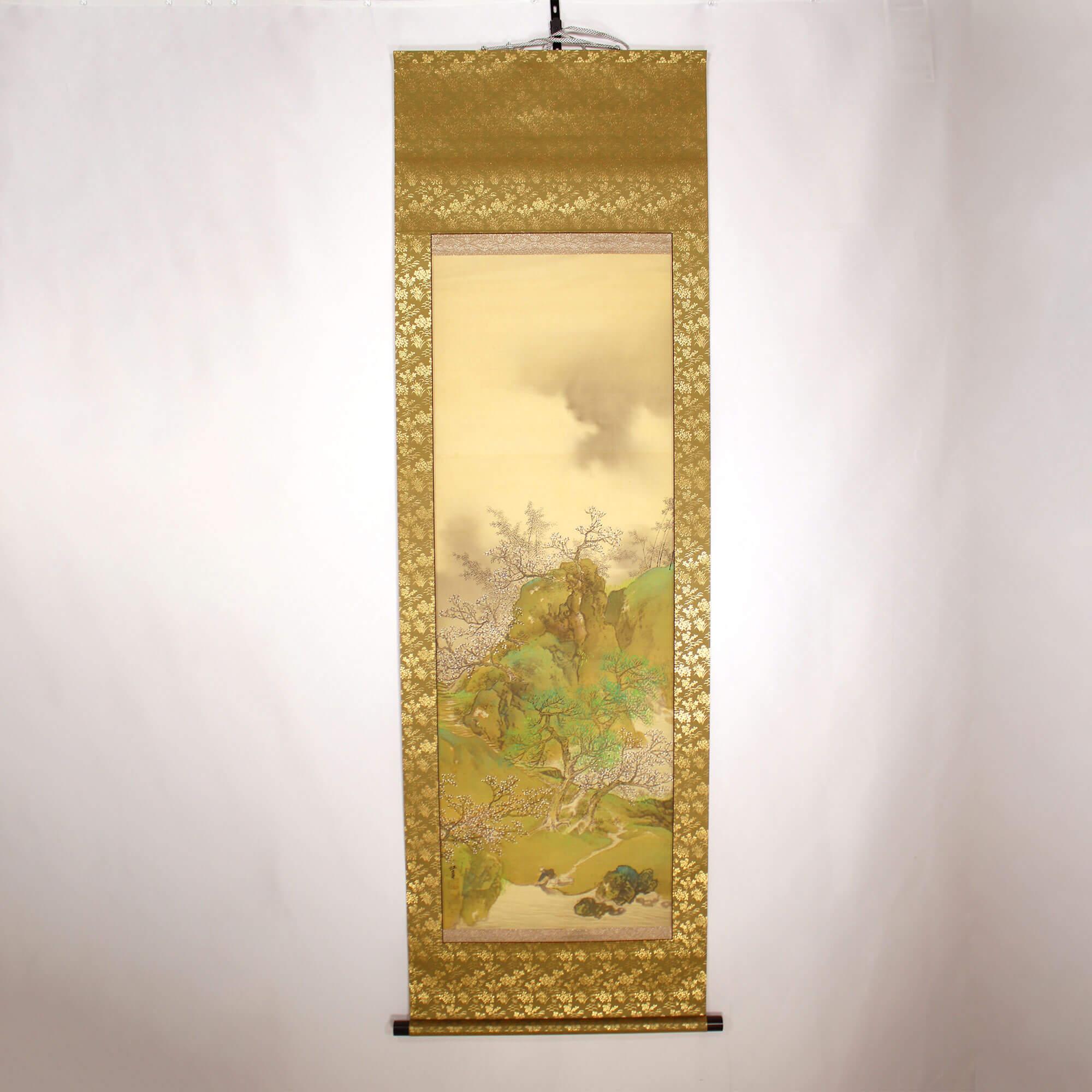 Landscape Painting: Plum Blossoms / Kōtei Fukui