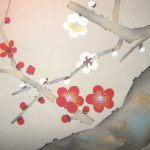Red Mt. Fuji and Plum Blossoms / Shūhō Inoue