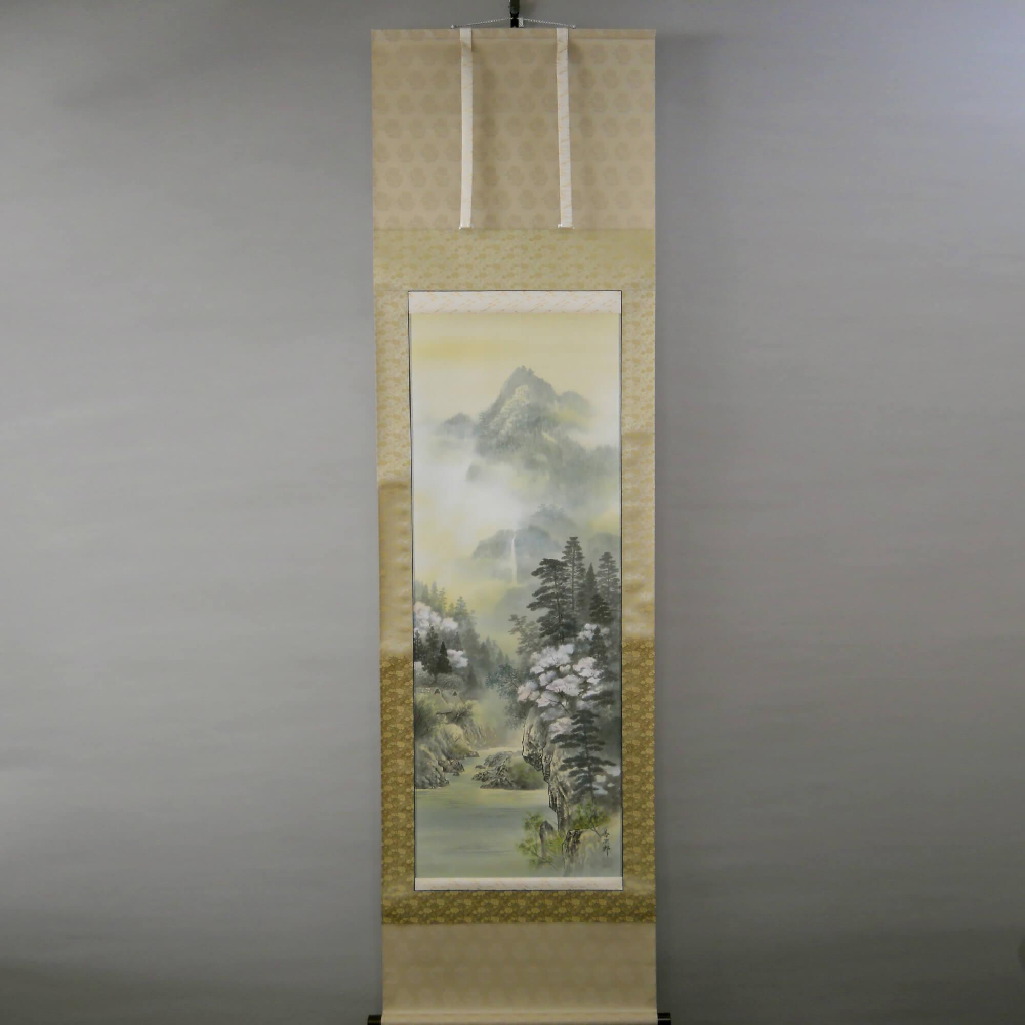 Landscape Painting : Cherry Blossoms / Zenjirō Arakawa
