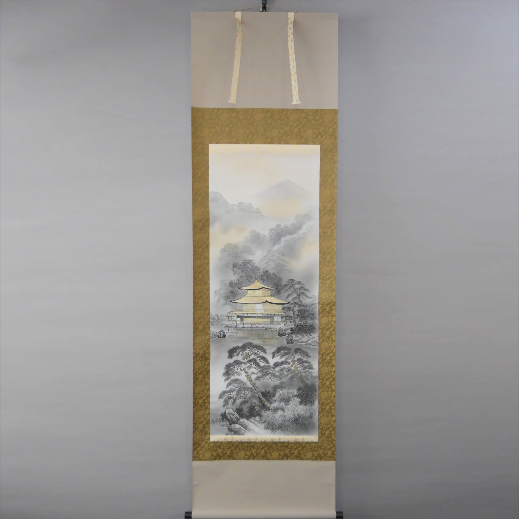 Landscape Painting : Kinkaku-ji Temple / Kawamura Kanpō