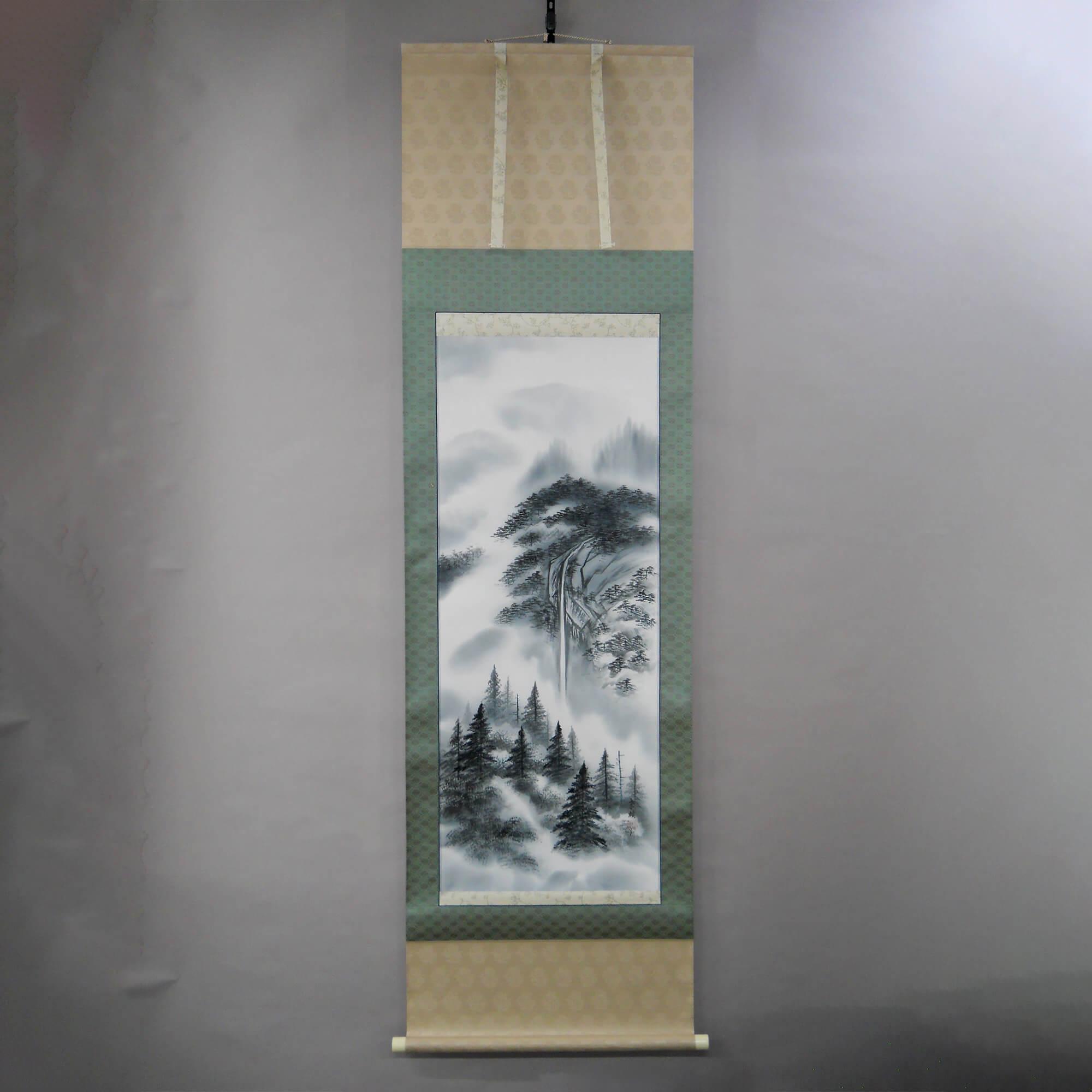 "Landscape Painting in ""Sumi"" Ink / Takao Katayama"