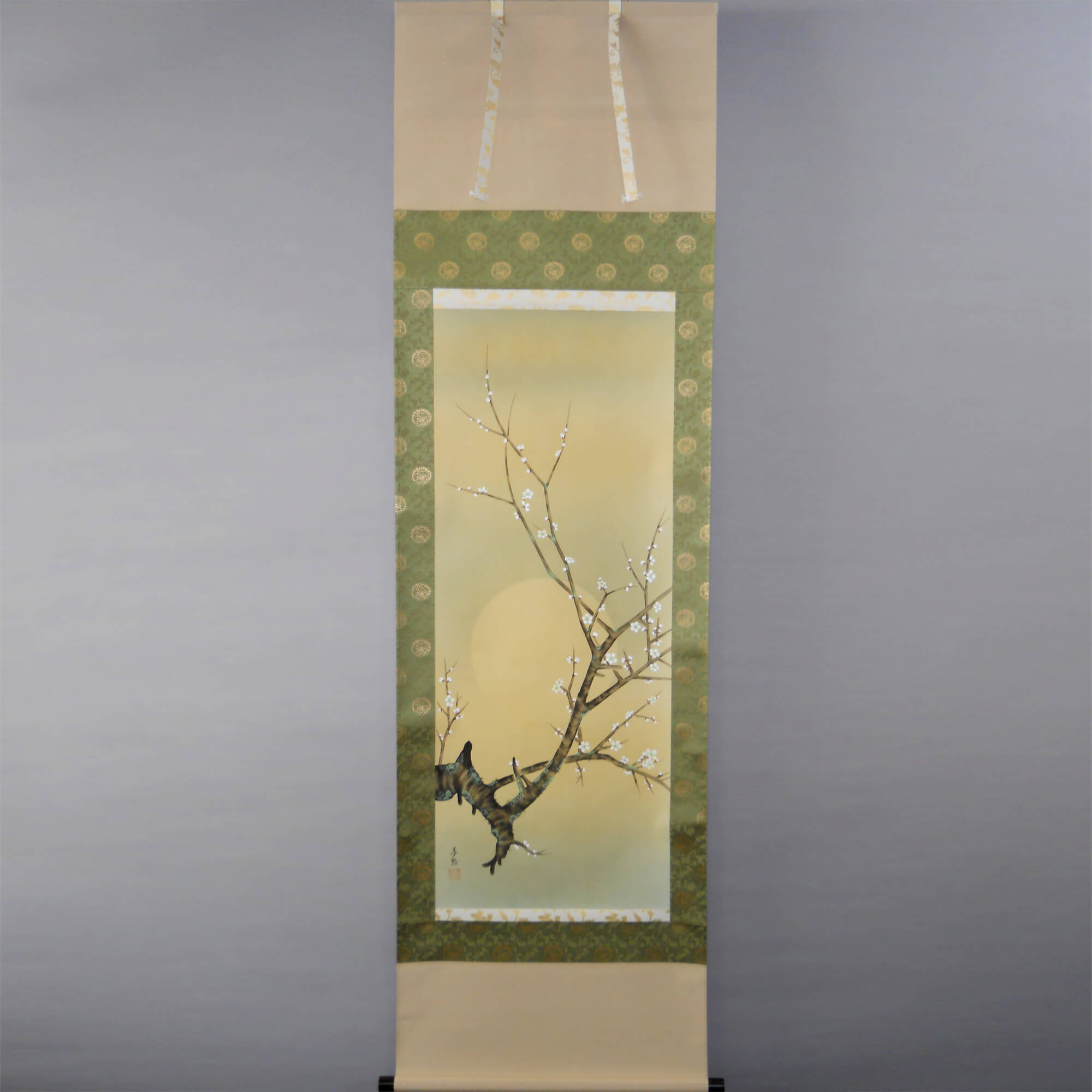Plum Blossoms with the Moon / Kinoshita Yumeji
