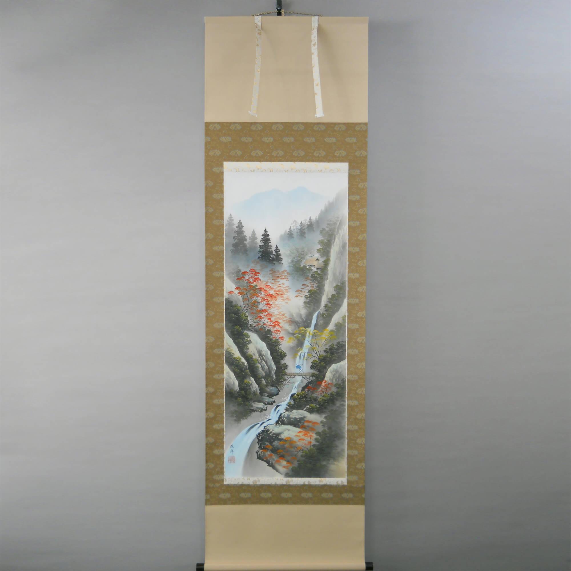 Landscape Painting: Autumn Scenery / Kawamura Kanpō