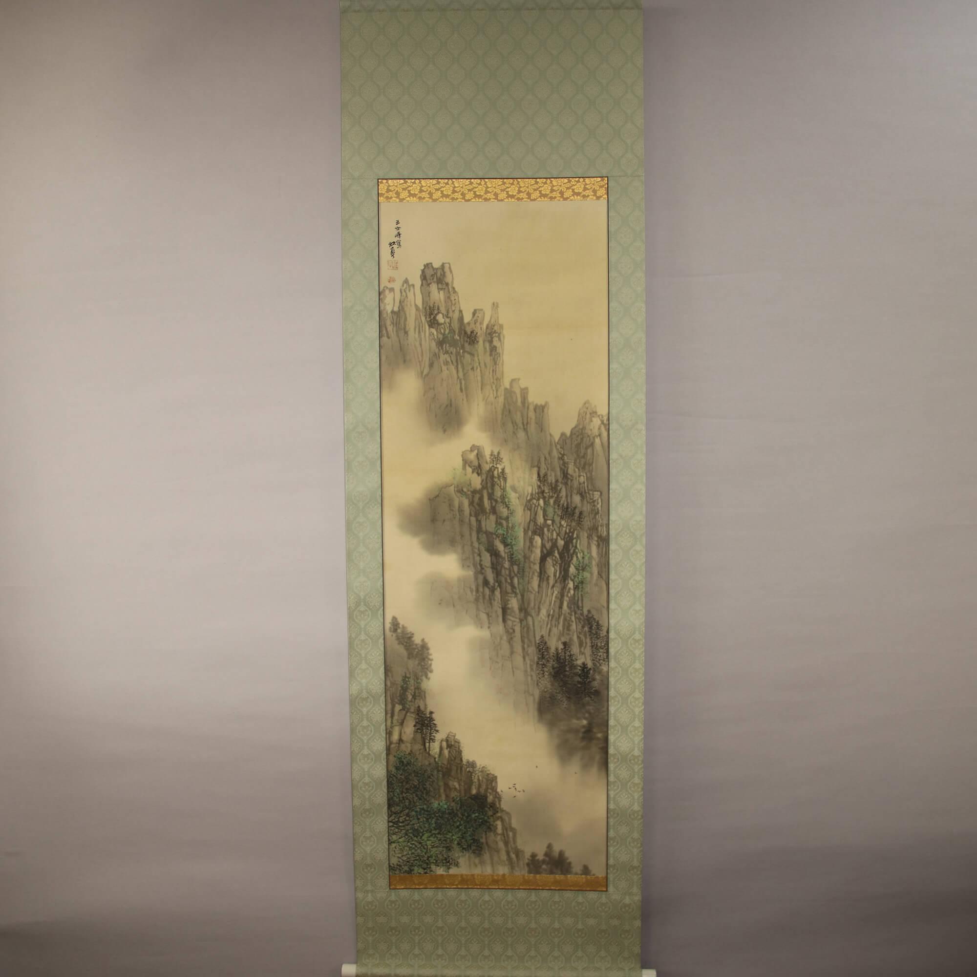 Landscape Painting: Yunv Mountain / Fukui Kōtei