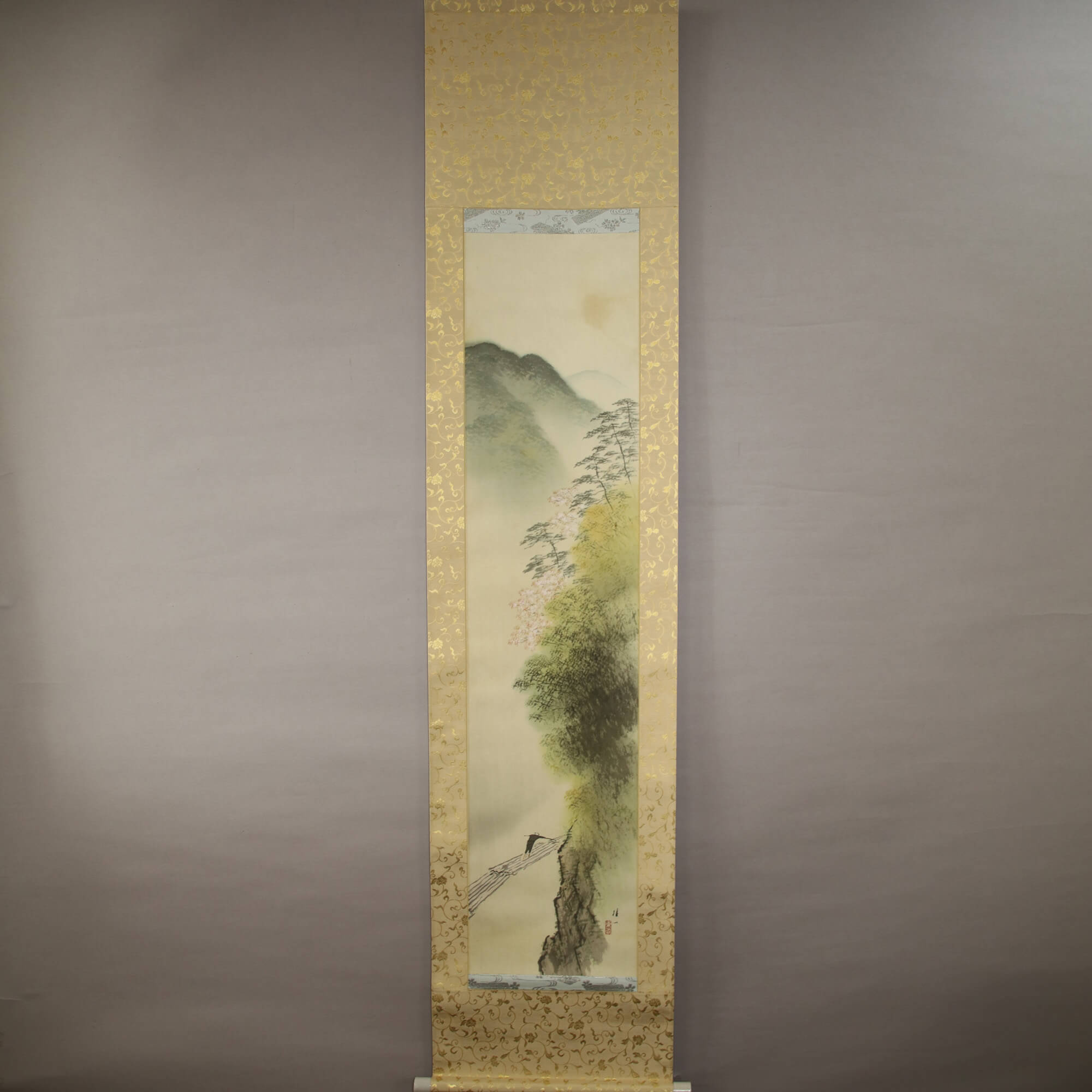 Landscape Painting : Spring of Arashiyama George / Hirai Baisen