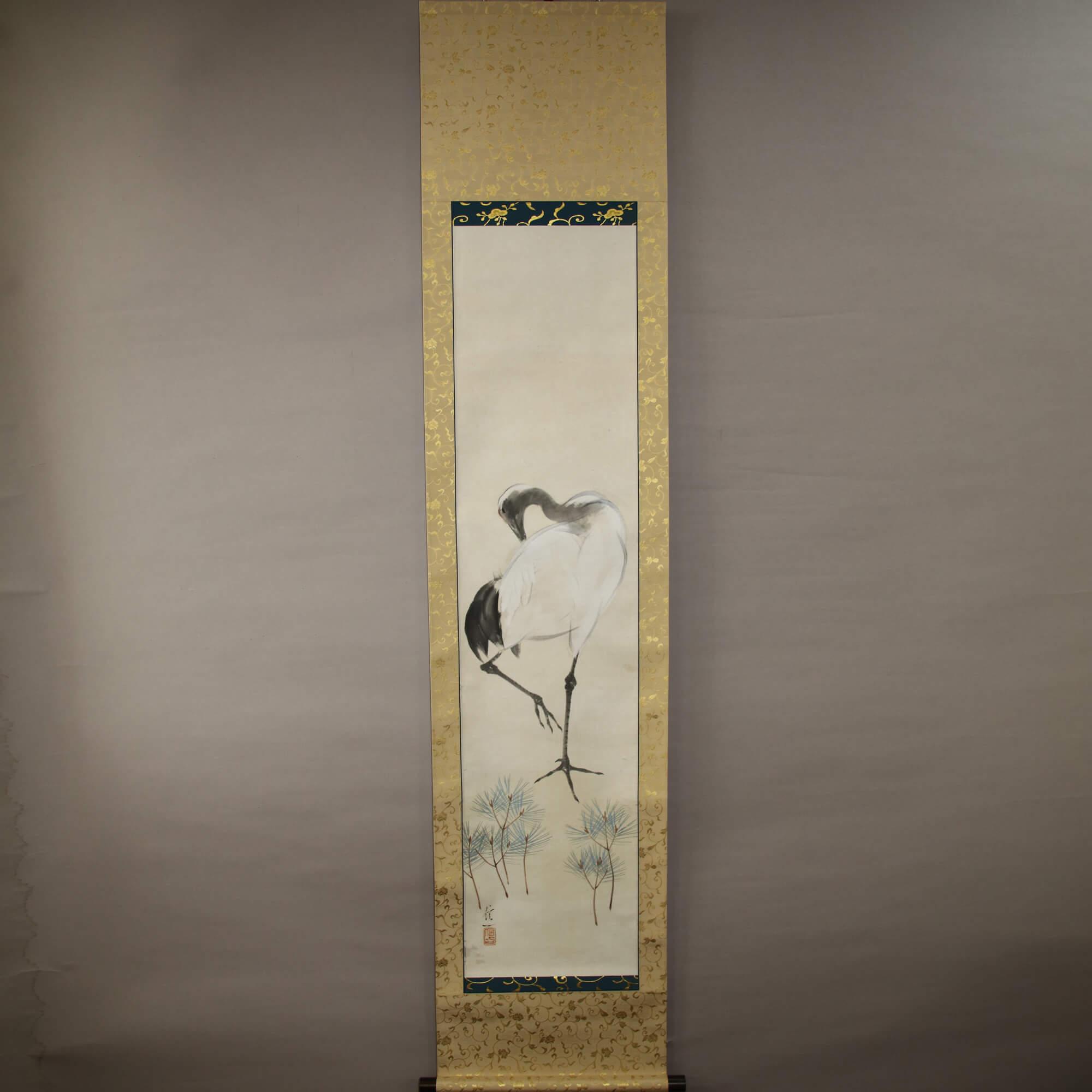 Crane in Pines / Yamanouchi Shin-ichi