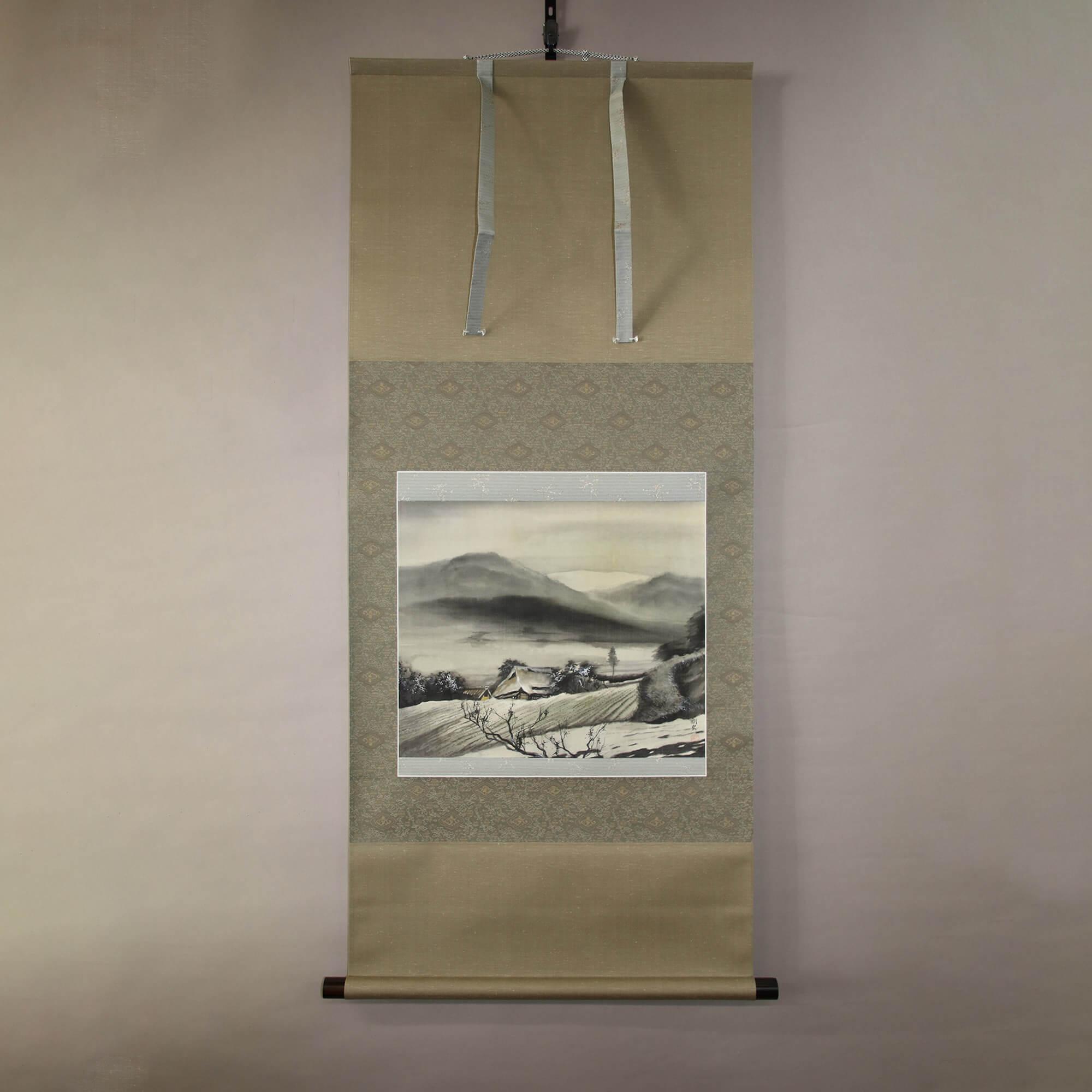 Landscape Painting : Mountains & Lake / Iio Takeshi