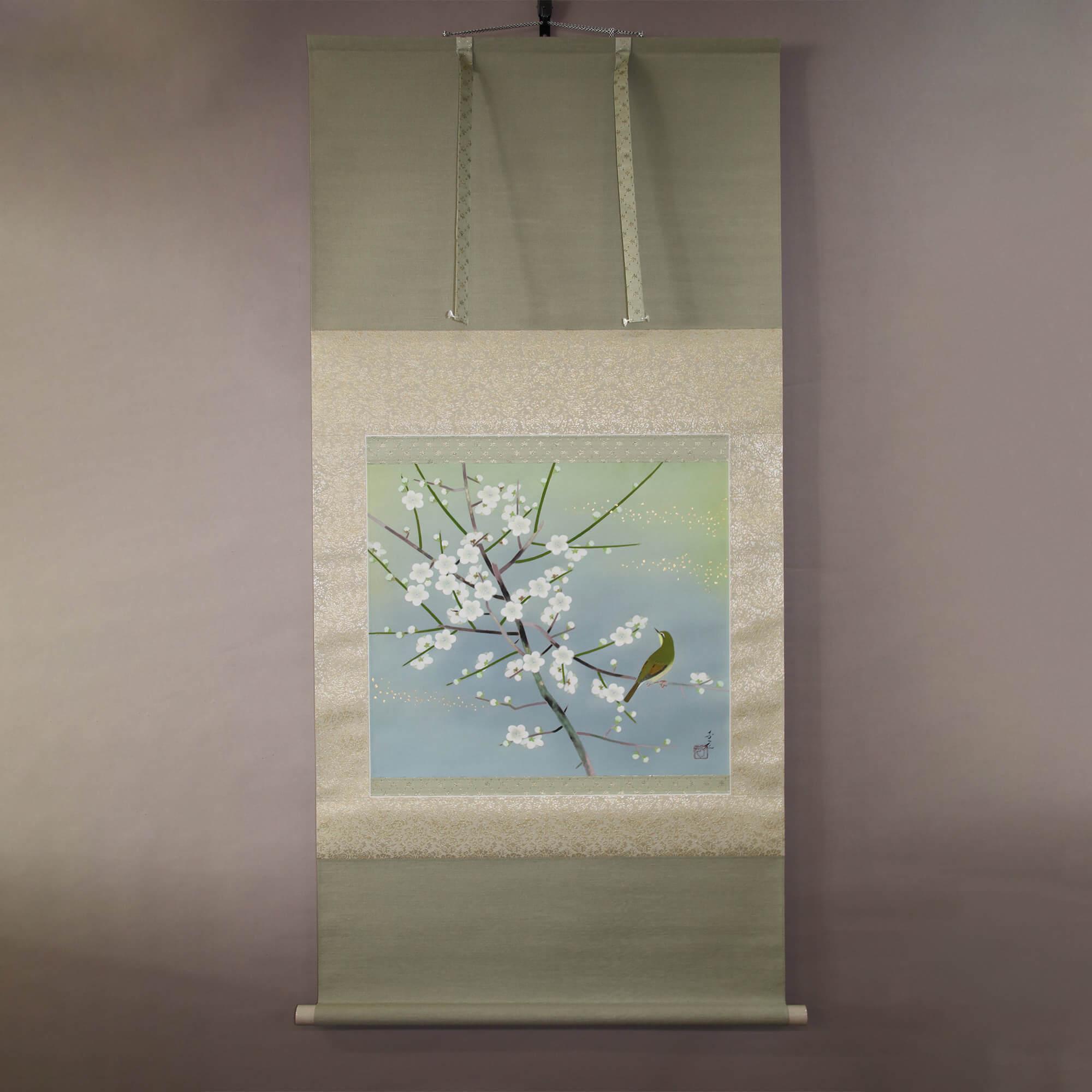 White Plum Blossoms / Isozumi Shigen