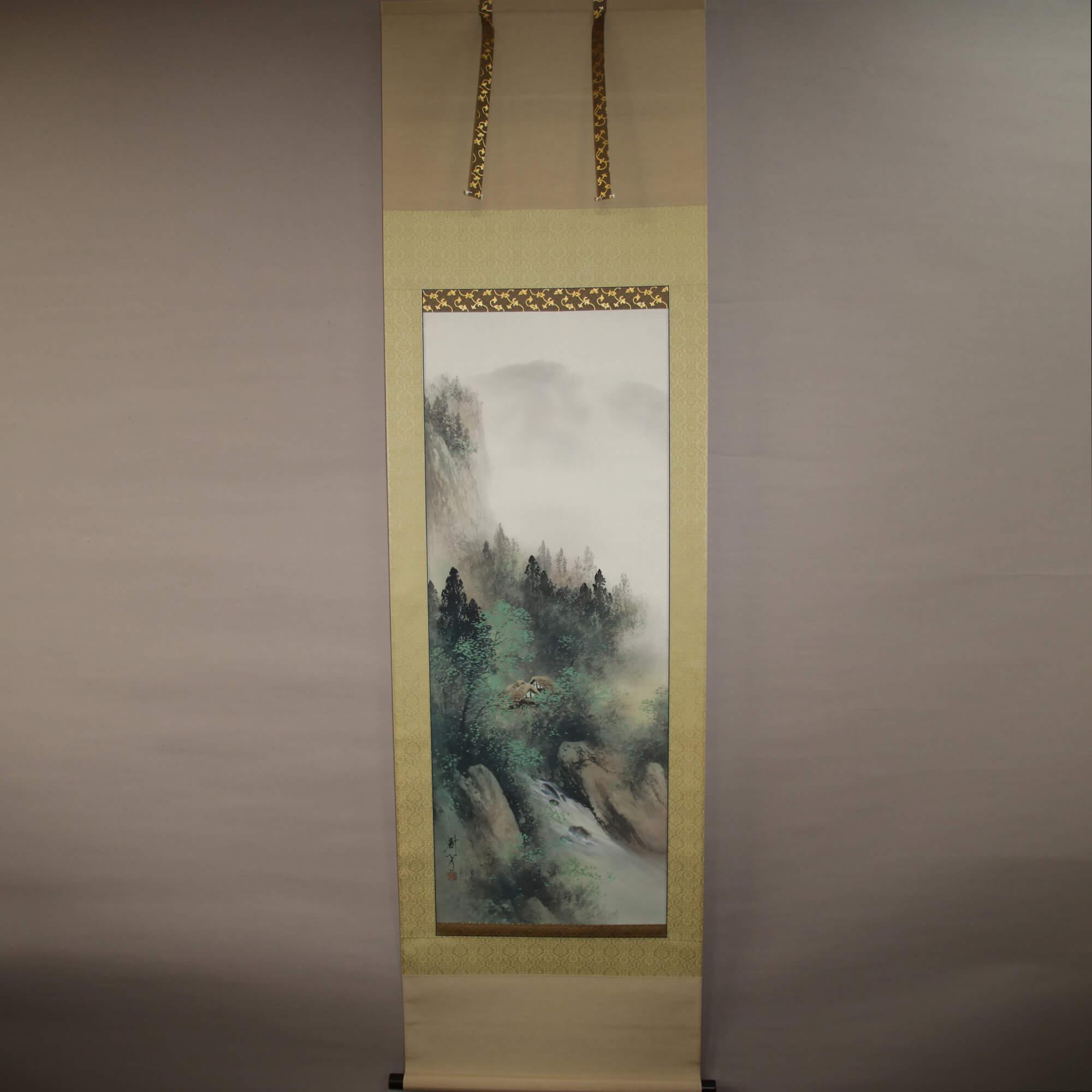 Colored Landscape / Nakazawa Juhō