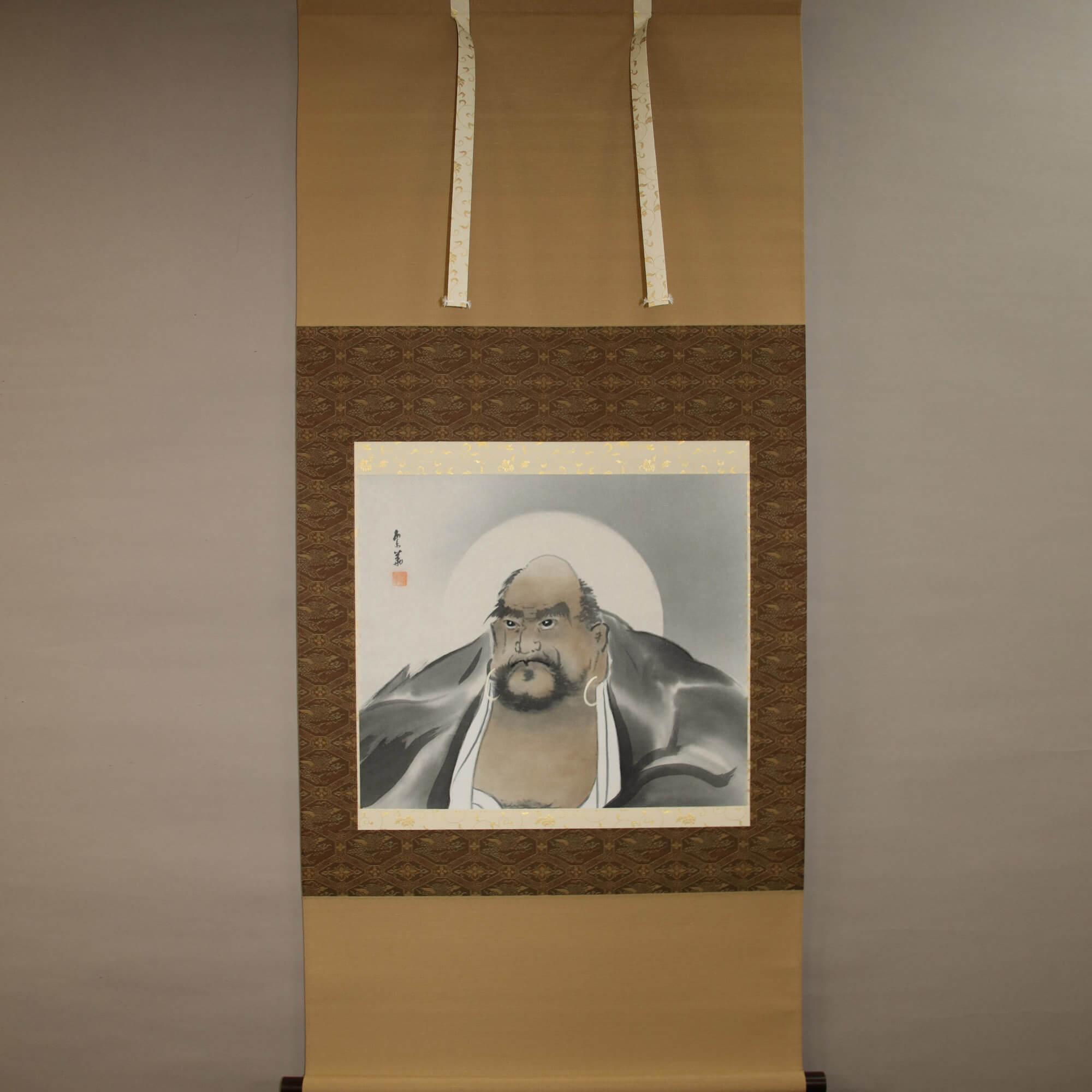 Bodhidharma / Nishiwaki Hanka