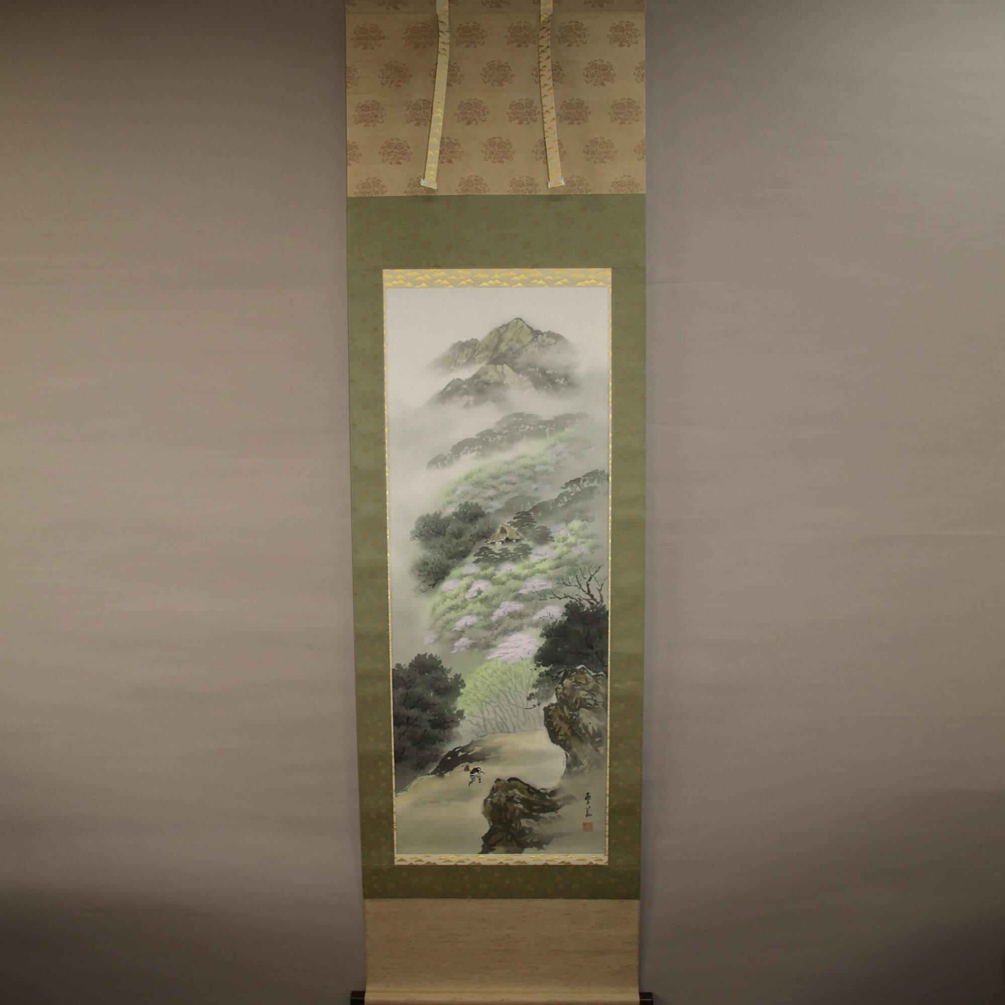 Landscape Painting: Spring Scenery / Nishiwaki Hanka
