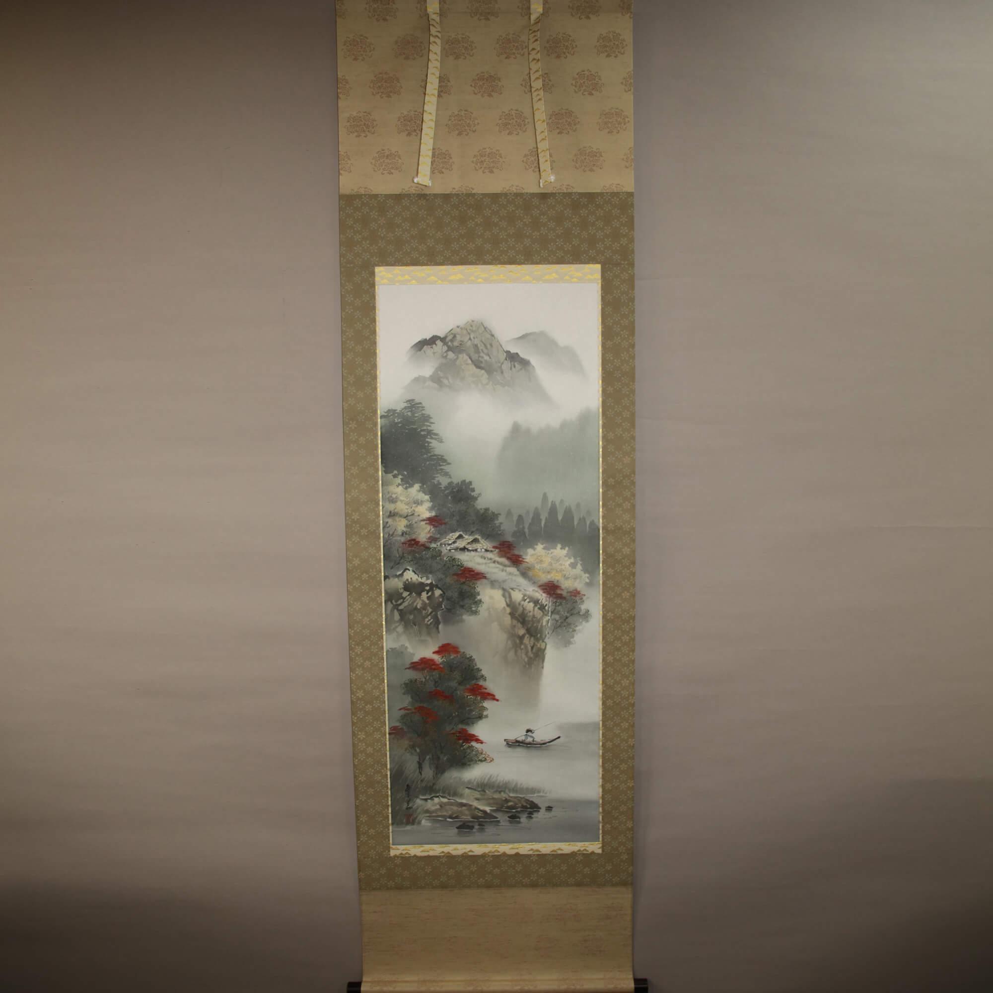 Landscape Painting: Autumn Scenery / Nishiwaki Hanka