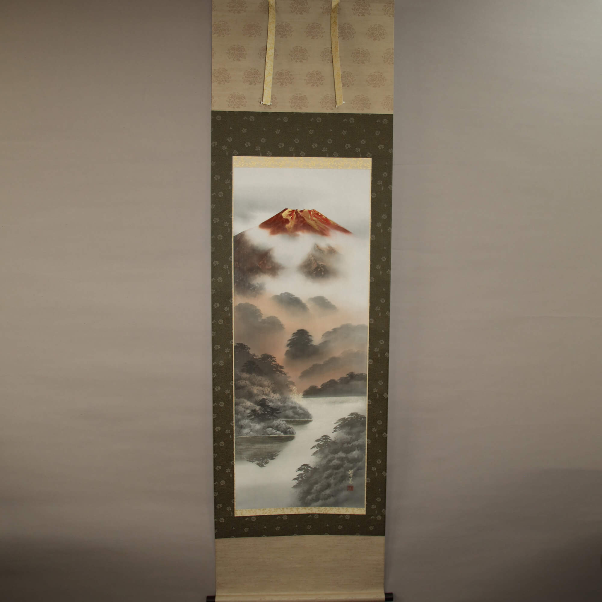 Red Mt. Fuji / Nishiwaki Hanka