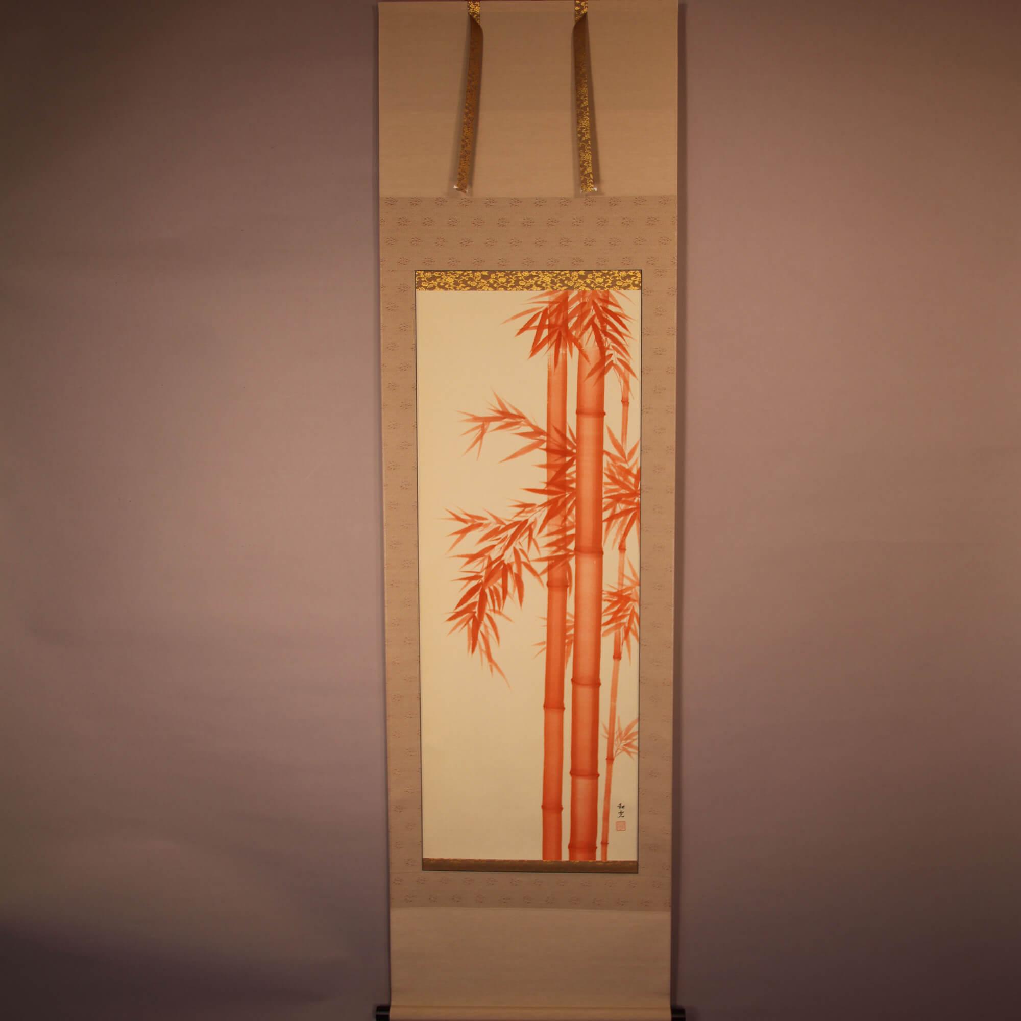 Vermilion Bamboo / Miyake Wakō