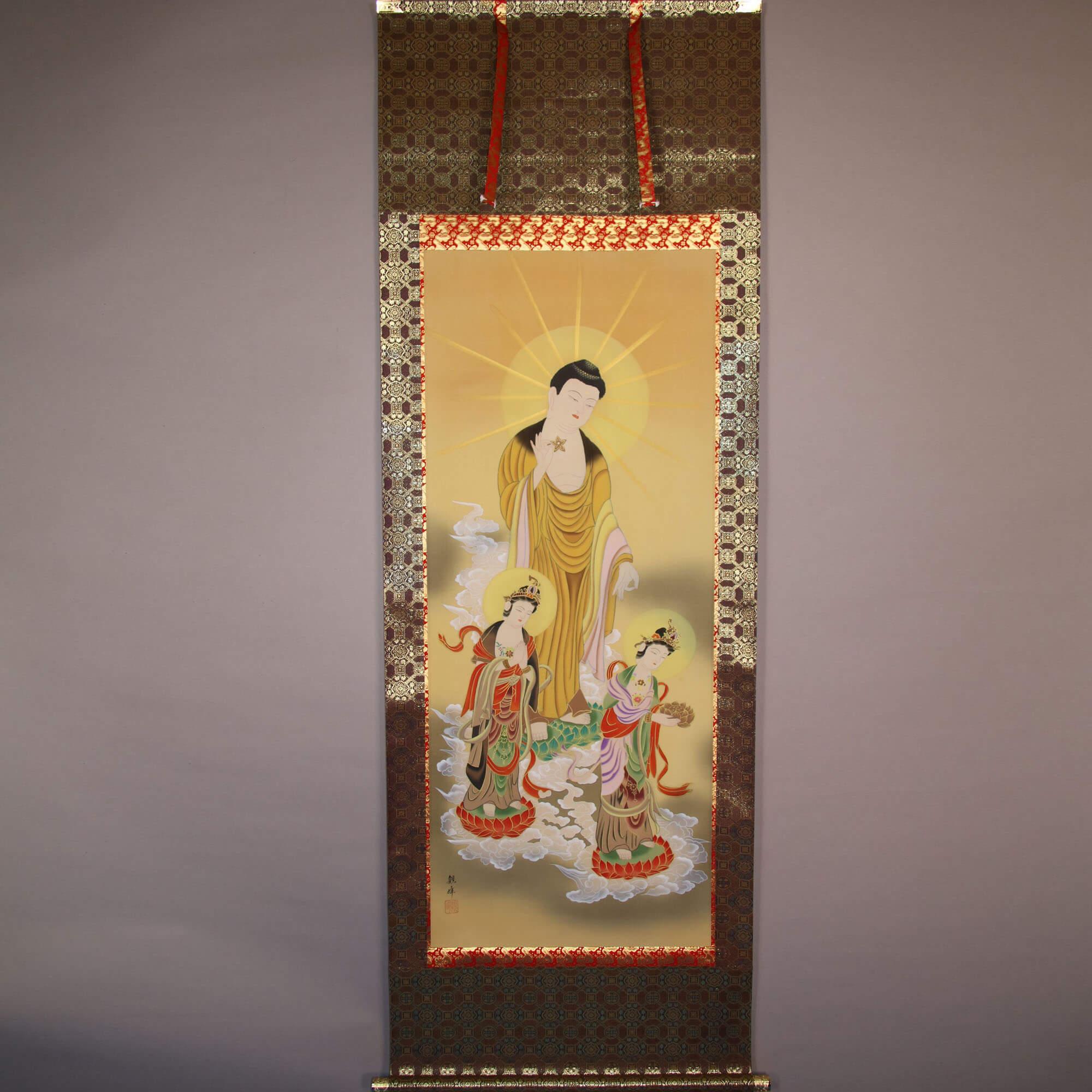Amitabha Triad / Kawamura Kanpō