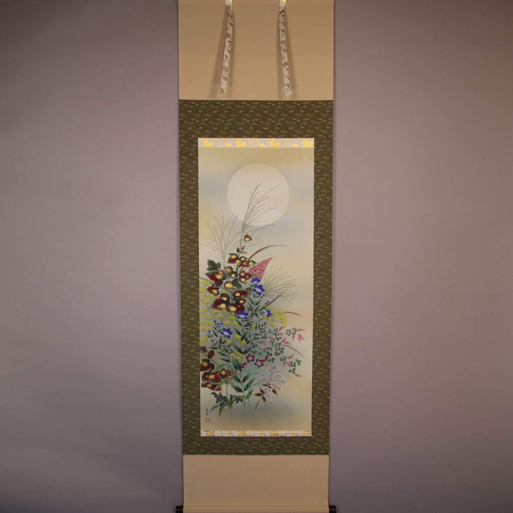 Autumn Flowers and Moon / Sakurai Kōdō