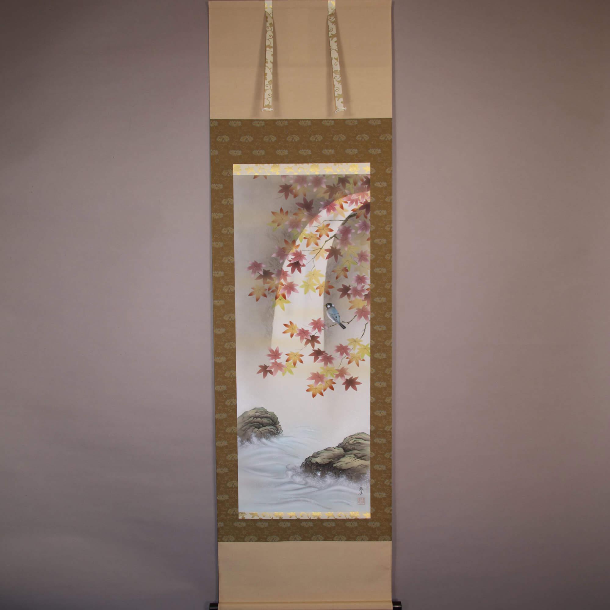 Autumn Leaves & Little Bird / Satō Masami